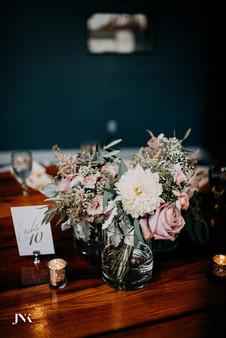 Bouquet Centerpieces