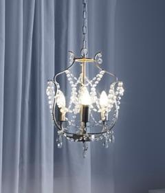 Small Silver Chandelier