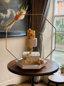 Copper Octagon Cake Frame