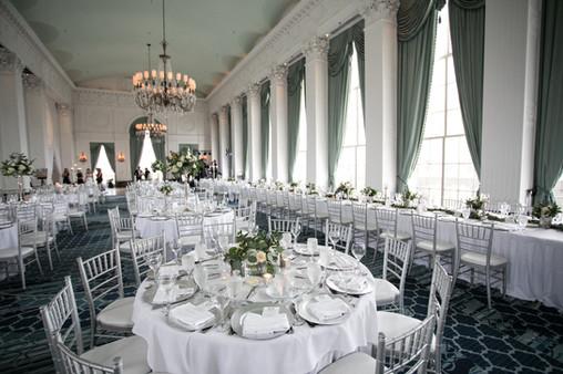 The gorgeous Crystal Ballroom