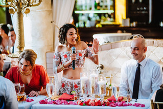The Bride Gets the Mic
