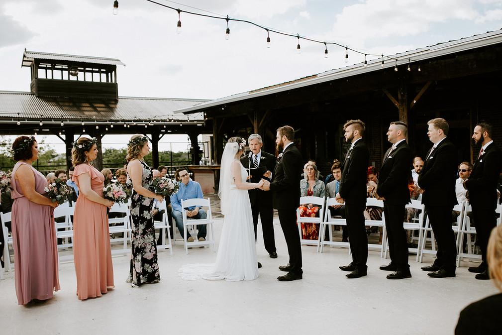 Rooftop Ceremony