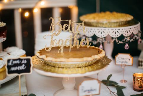"""Pumpkin Pie Wedding """"Cake"""""""