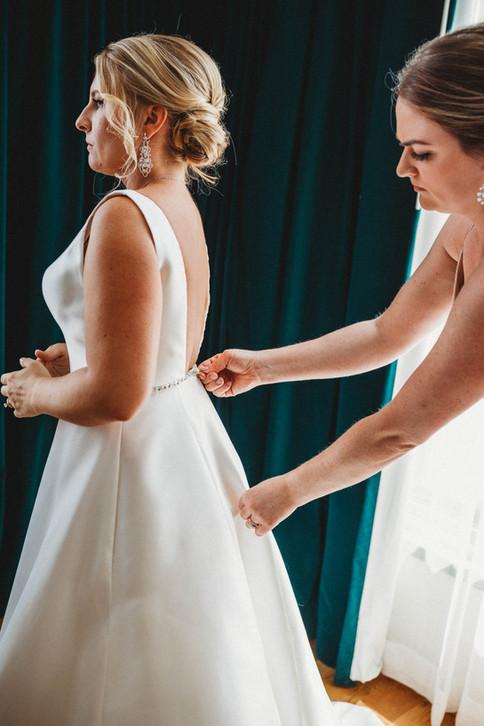 Dressing the Bride