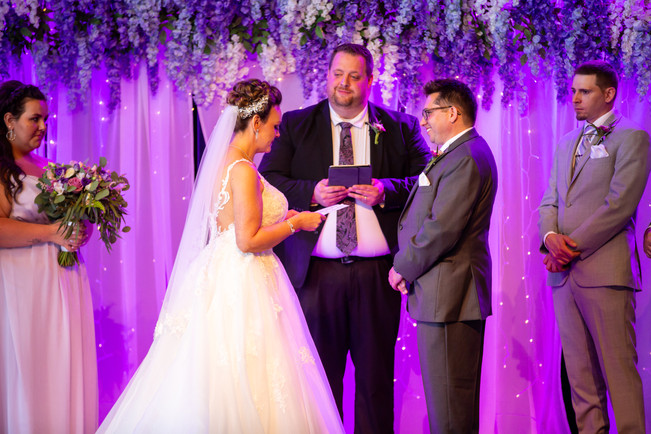 Sharing Her Vows