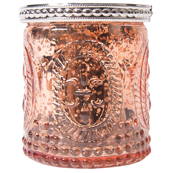 Rose Gold Vintage Mercury Candle