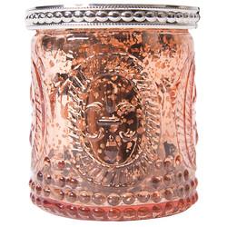 Rose Gold Vintage Mercury Candle