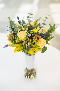 Simple Garden Bridal Bouquet