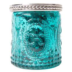 Vintage Mercury Glass Candle