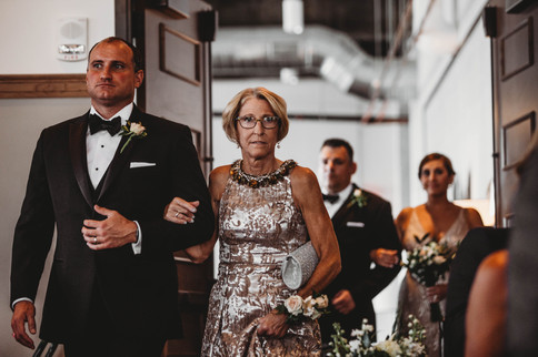 Seating the Mother of the Bride