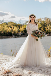 Bride on the Water