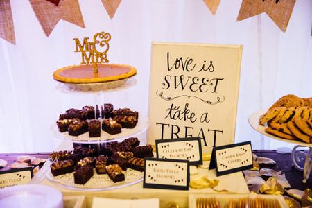 Bistro Style Dessert Table