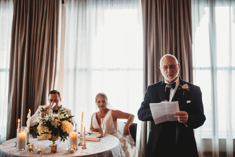 Father of the Bride Welcome
