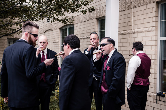 Smokes with the Boys
