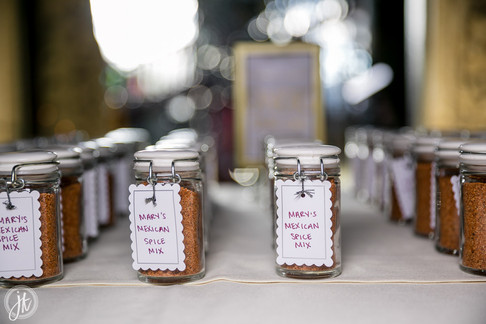 Spicy Wedding Favors