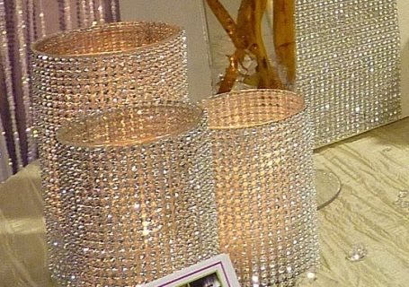 Bling Vases & Candle Holders