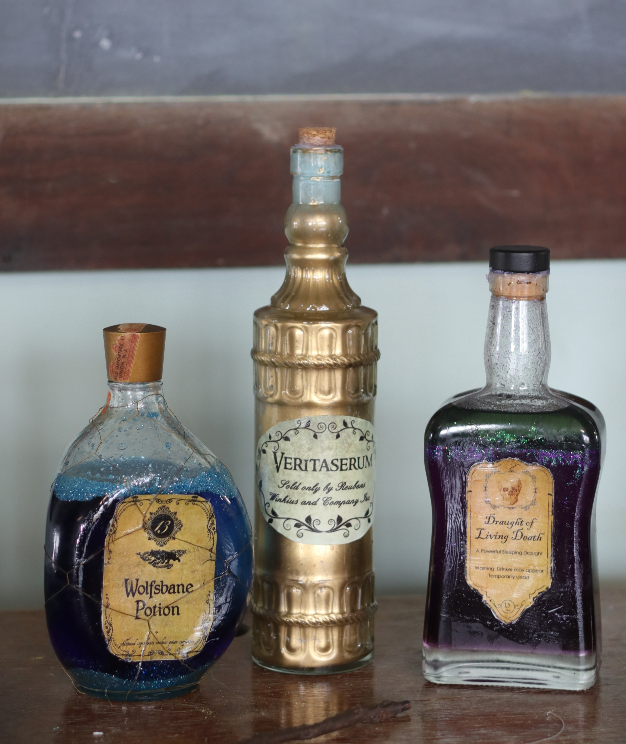 Mixed Potion Bottles