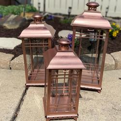 Copper Lantern Trio