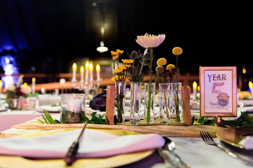 Hufflepuff Table
