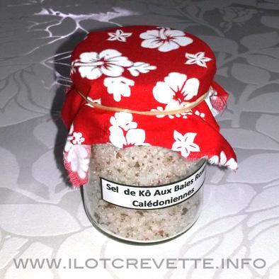 Sel calédonien aromatisé