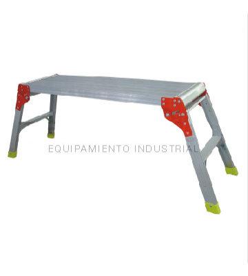 ESCALERA ALUMINIO DE PLATAFORMA 80X30