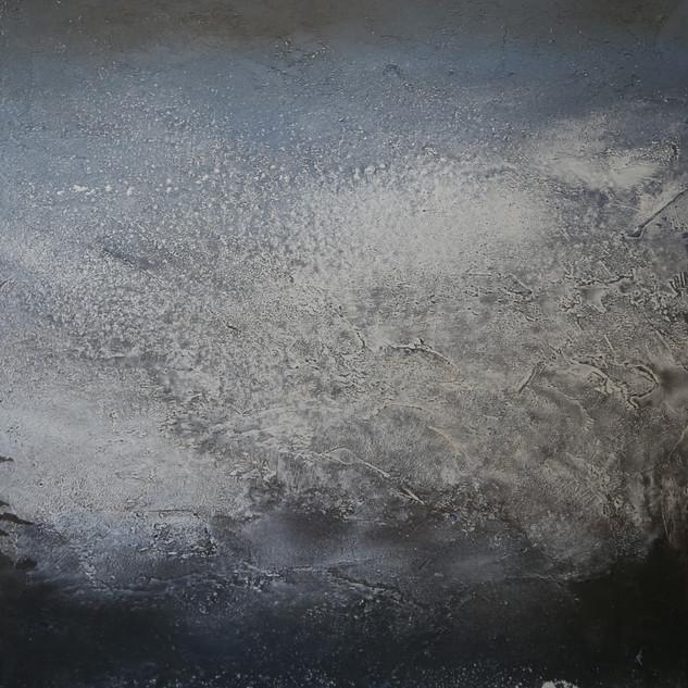 Nordsee,105x65, Mischtechnik auf Leinwand