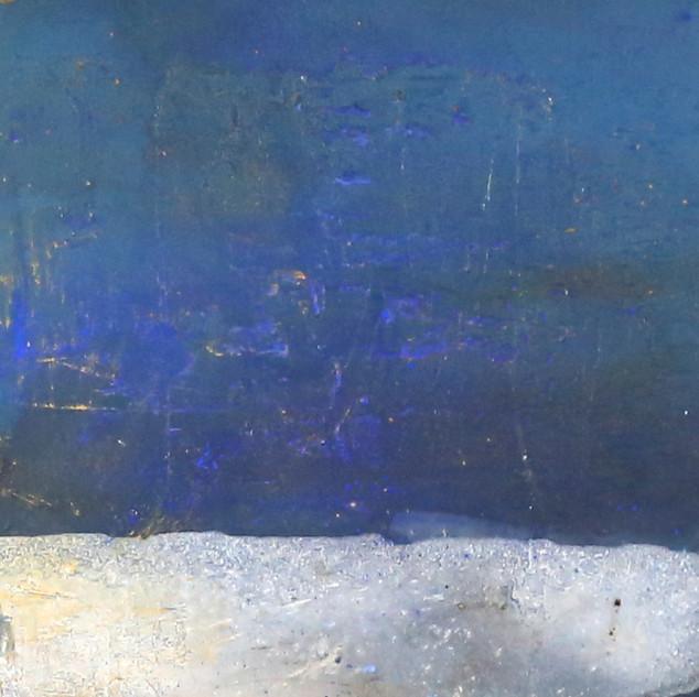 Nordsee,120x40, Mischtechnik auf Leinwand
