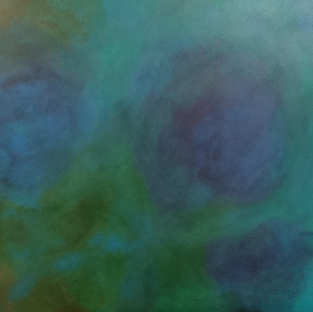 o.T., Acryl auf Leinwand, 70x50, 2019
