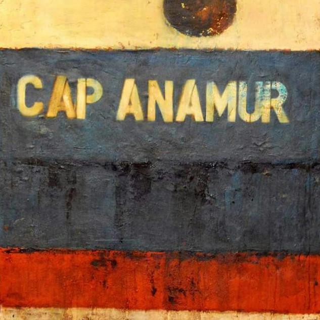 Exodus, Cap Anamur, Mischtechnik, 2016