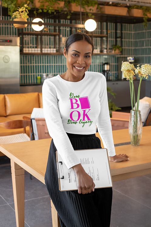 Your Book Your Legacy Unisex Long Sleeve Tee