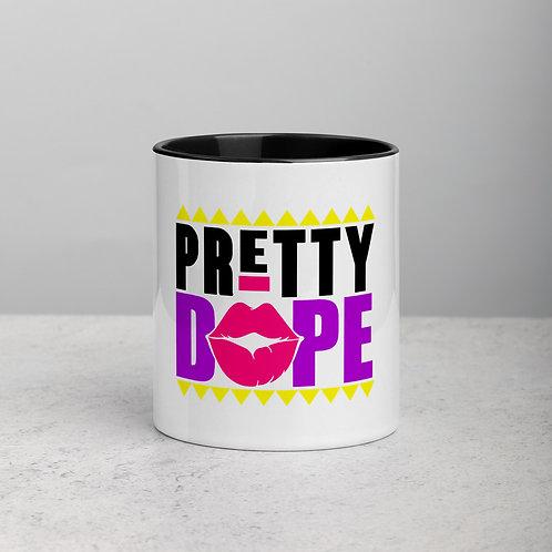 Pretty Dope Mug with Color Inside