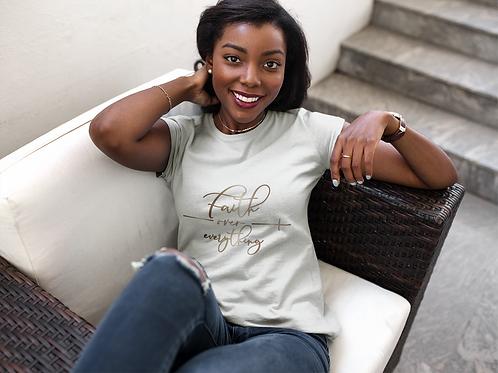 Faith Over Everything Short-Sleeve Unisex T-Shirt