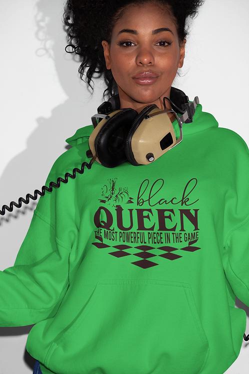 Black Queen Chess Hoodie