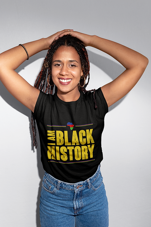 I Am Black History Short-Sleeve Unisex T-Shirt