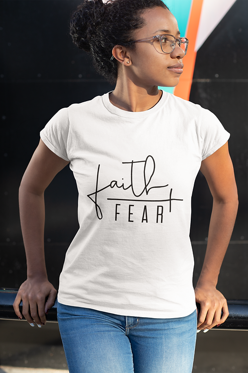Faith / Fear Short-Sleeve Unisex T-Shirt