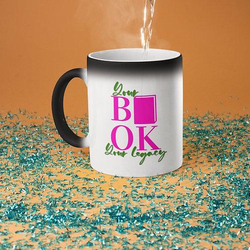 Your Book Your Legacy Glossy Magic Mug