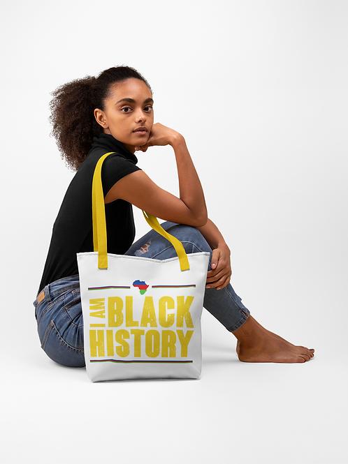 I Am Black History Tote bag