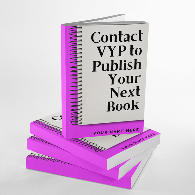 Contact VYP To Publish Your Book