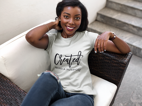 Created With A Purpose Short-Sleeve Unisex T-Shirt