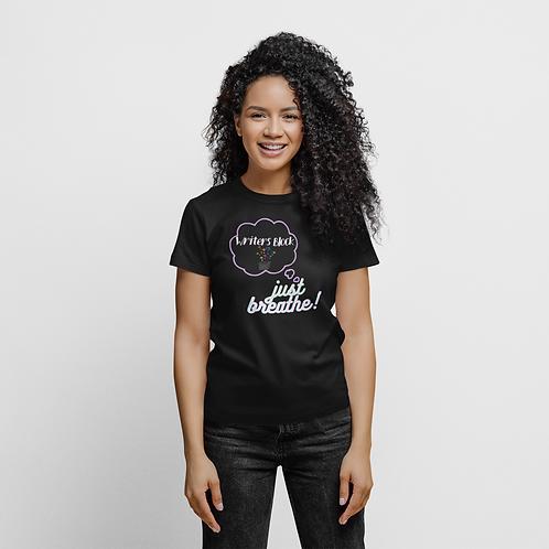 Writers Block Just Breathe Short-Sleeve Unisex T-Shirt