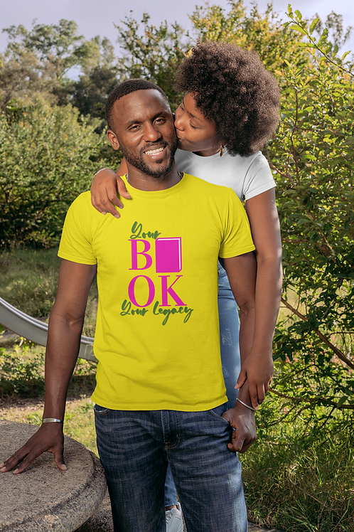 Your Book Your Legacy Short-Sleeve Unisex T-Shirt