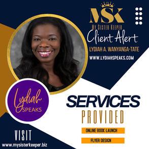 Lydiah Speaks