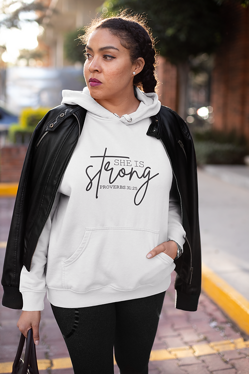She Is Strong Unisex Hoodie