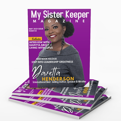My Sister Keeper Magazine Issue 03