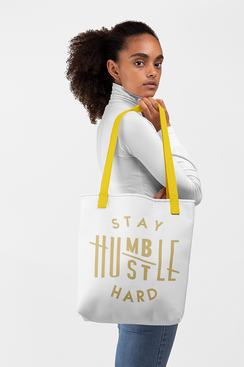 Stay Humble/Hustle Hard Tote bag