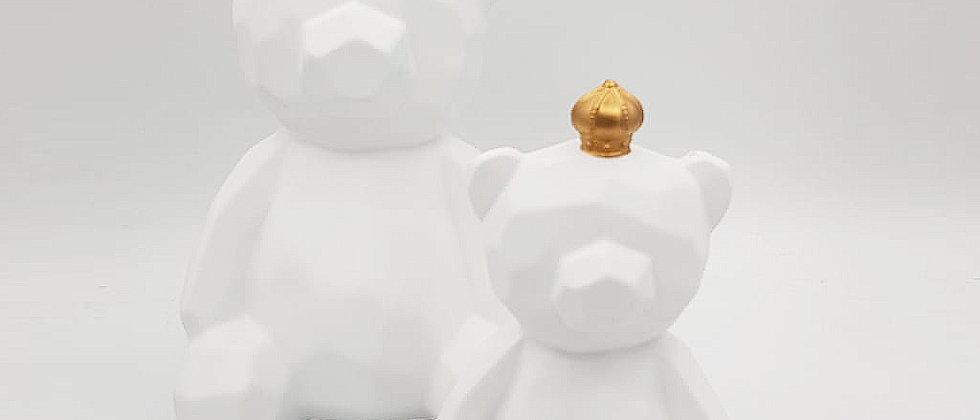 פסל זוג דובים