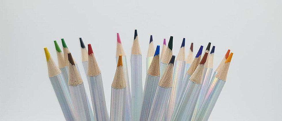 מארז 24 עפרונות צבעוניים