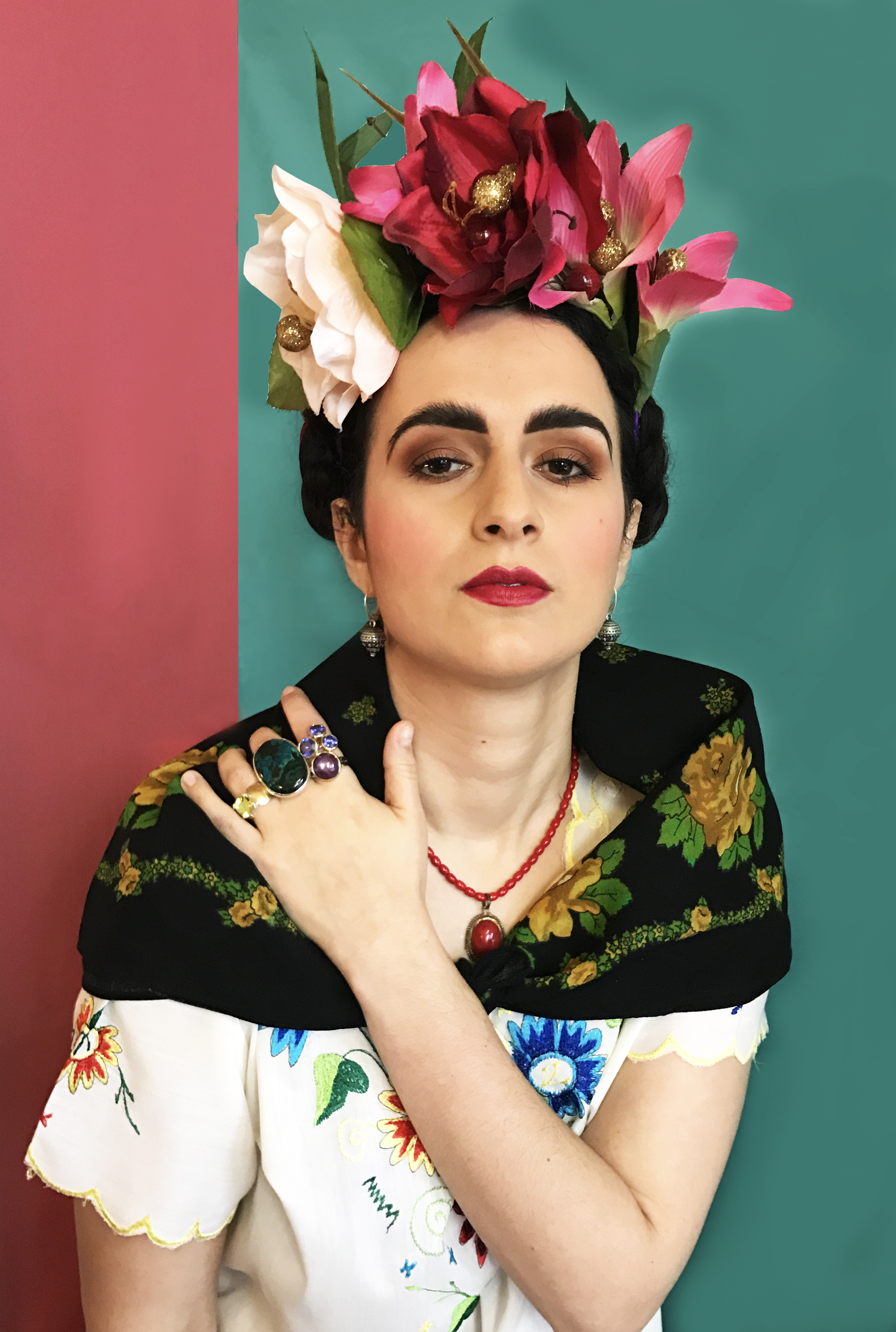 Frida Kahlo Shoot