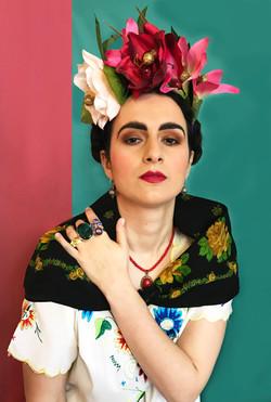 Frida Kahlo Shoot