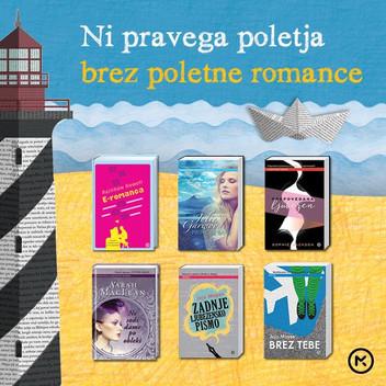 E-romanca, knjiga za poletno branje!